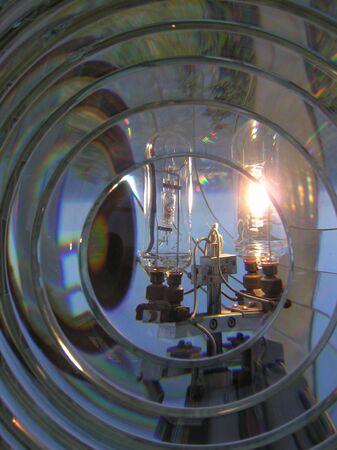 lighthouse fresnel lens Imagens
