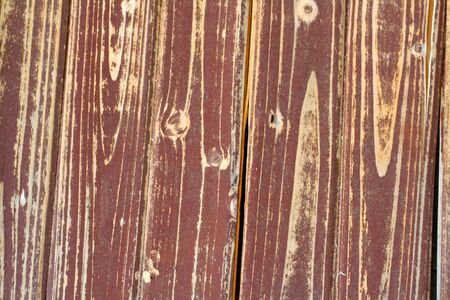 tongue and groove: wood fence Stock Photo