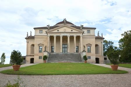 Villa La Rotonda, Vicenza, Veneto, Italy.