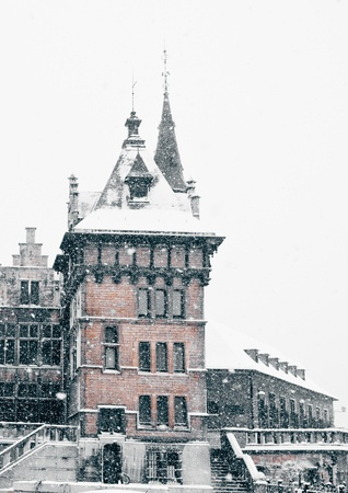 Antwerp Castle  Stock Photo - 16043125