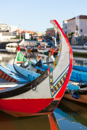 Aveiro gondola detail. Aveiro is a city in Aveiro Municipality in Portugal