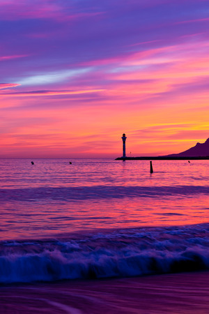 Magic Sunset in Cannes, Cote d photo