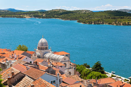 Cathedral of St  James in Sibenik, Croatia  UNESCO World Heritage Site