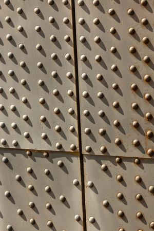 filtered: Moderno marco de Puente de cerca. Imagen filtrada