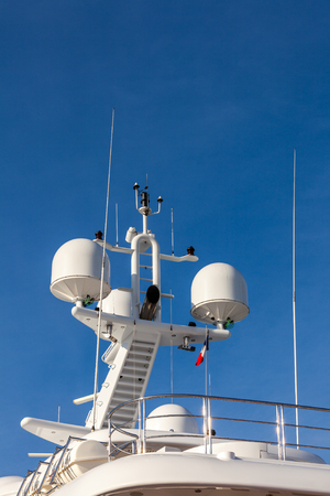 onboard: Communication and safety equipment onboard yacht
