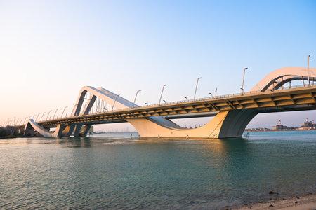 zayed: Sheikh Zayed Bridge, Abu Dhabi, United Arab Emirates Editorial