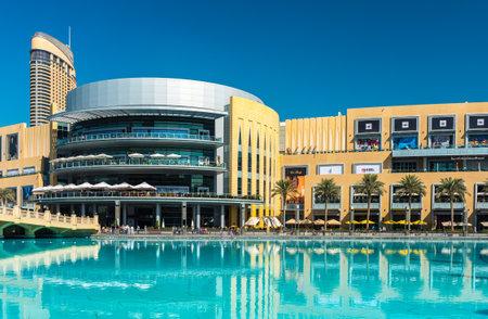 mall of the emirates: UAE, DUBAI - JANUARY 02: Dubai shopping mall exterior on January 02, 2015 in Dubai, United Arab Emirates Editorial