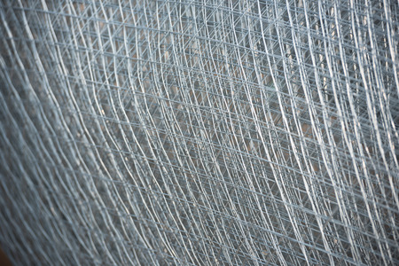 re design: Re-bar Metal Grid. Abstract steel design Stock Photo