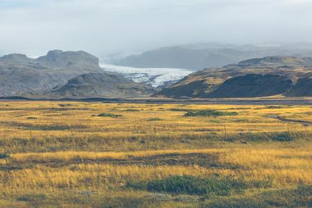 Vatnajokull Glacier National Park, Iceland.
