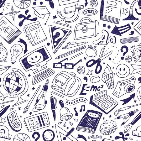 School education - seamless background Illustration