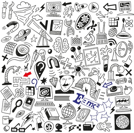Science - doodles collection Stock Vector - 18354927