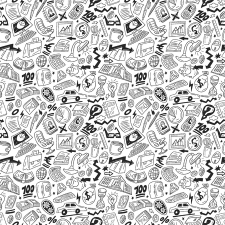 Business - seamless vector pattern Vector