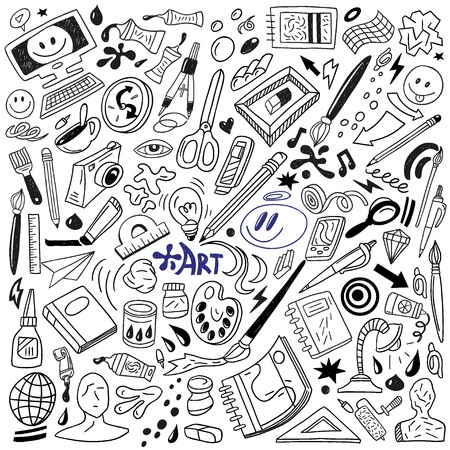 Art Doodles - Vector Vector