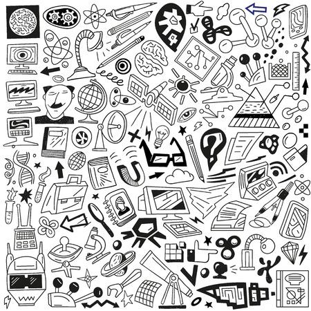 Science - doodles set