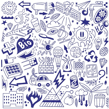 Ecology - doodles collection Stock Vector - 18765339