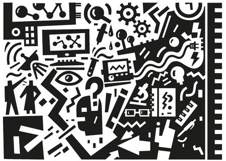 Science - illustration Stock Vector - 20640593