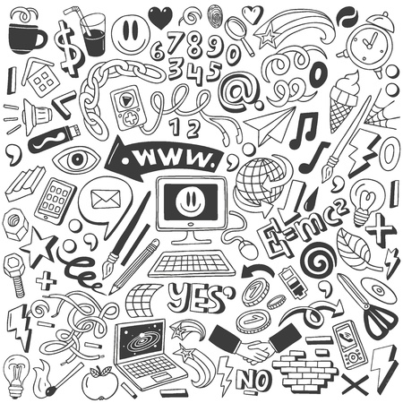 web doodles collection photo