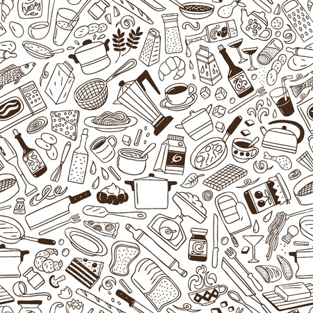Cookery - seamless pattern photo