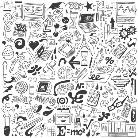 Science - doodles collection Stock Photo - 20674564