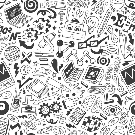 Science - doodles collection Stock Photo - 20674565