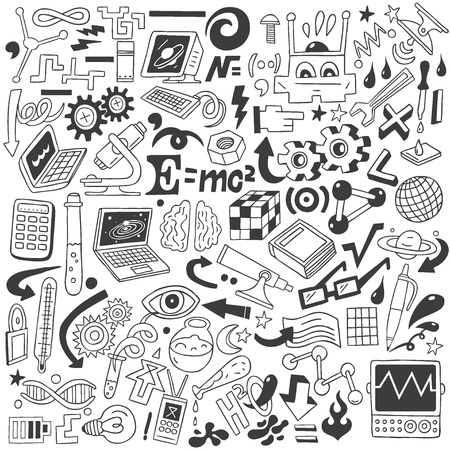 Science - doodles collection Stock Photo - 20674567