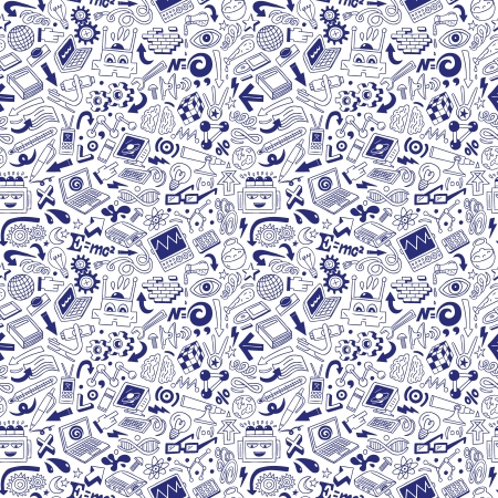 Science - doodles collection Stock Photo - 20674569
