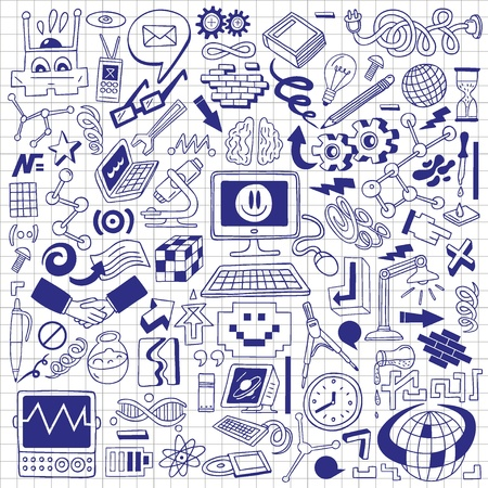 Science - doodles collection photo