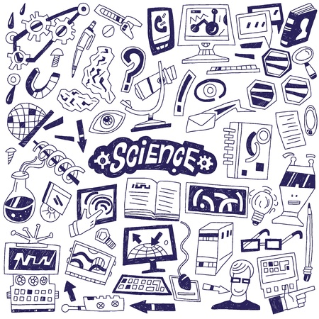 Science - doodles Stock Photo - 21586377
