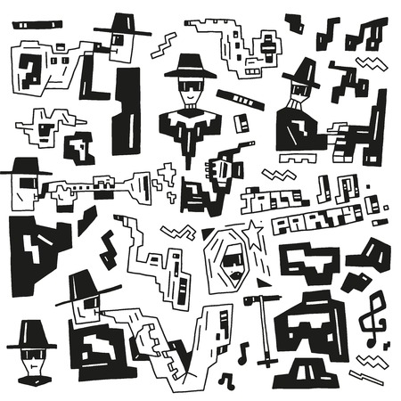 jazz party icons Vector
