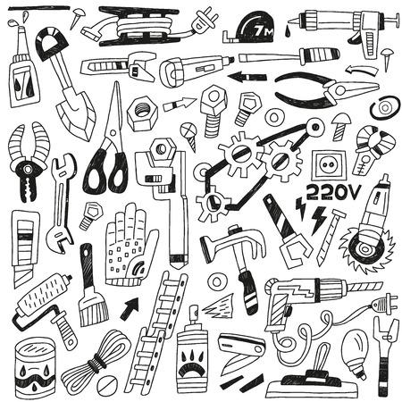 rasp: work tools - set icons
