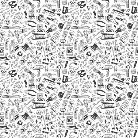 rasp: work tools - seamless background