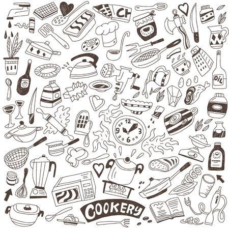 sugar spoon: cookery doodles