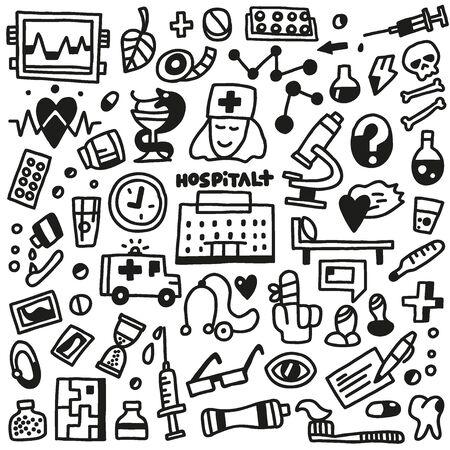 Medicine - doodles set Stock Vector - 24545064