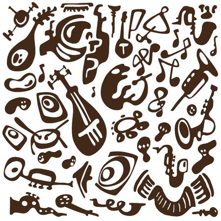 tuba: jazz instruments doodles