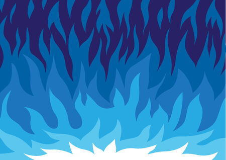blue flames: gas flame abstract background
