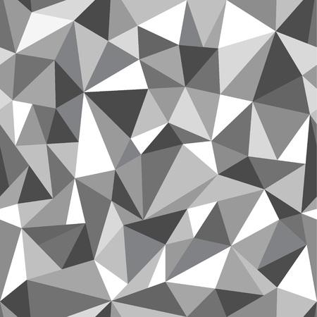 Driehoeken - abstracte naadloze achtergrond, ontwerpelement