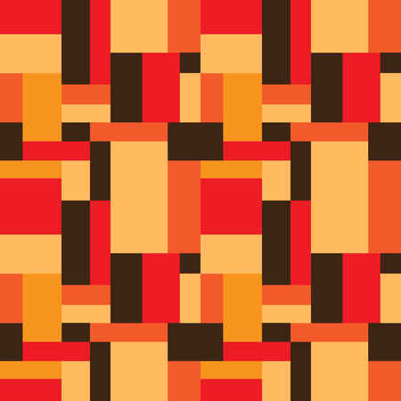rectangles: abstract seamless pattern with rectangles , design element Illustration