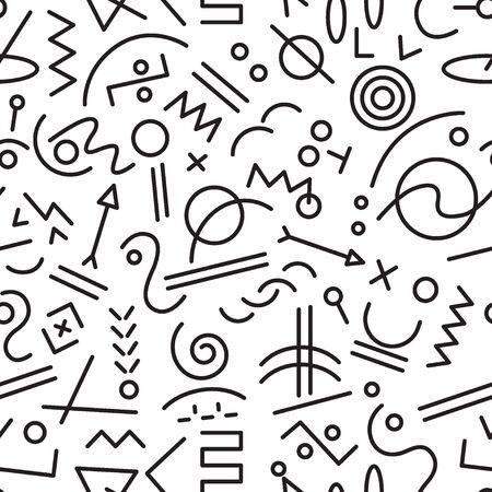 abstract pattern: abstract seamless pattern Illustration