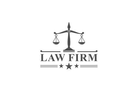 law firm in white background