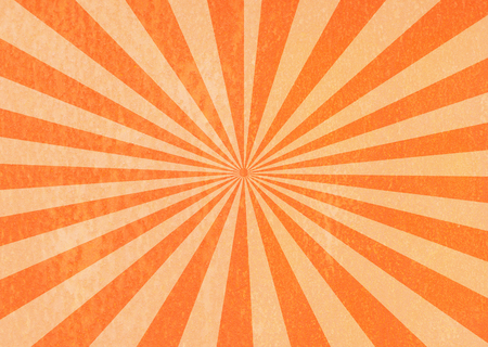 grunge sunburst orange abstract background