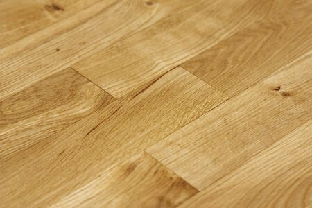 oiled: close up of an oak floor in oil