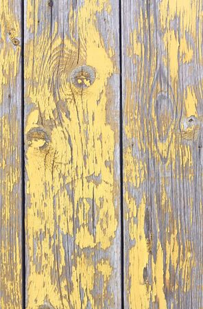Old rough wooden fence texture Stock Photo