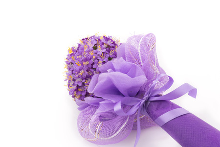 Bouquet flower isolated on white background Stock Photo