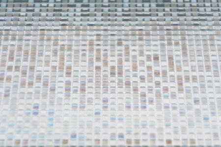 Nahtlose Blauen Fliesen Textur Hintergrund Glas, Fenster, Küche Oder Bad  Konzept Standard
