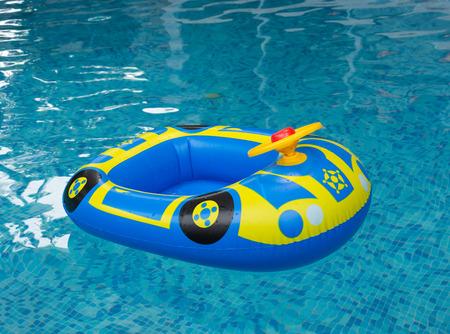 car ring pool in pool photo