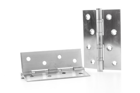 hinges: hinges isolated on white background