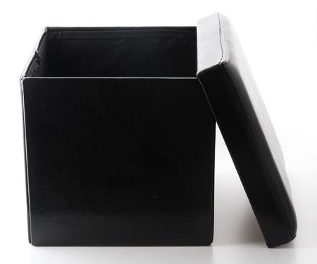 box design: black chair box design for putting somethings
