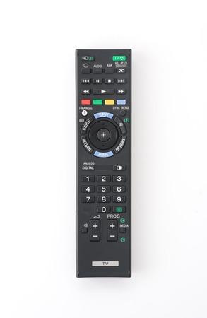remote isolated on white background photo