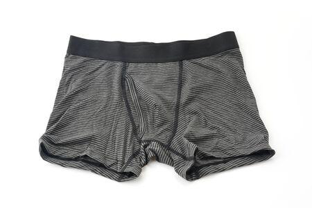 man underwear: men underwear isolated on white background Stock Photo