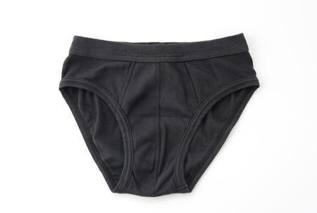 man in underwear: men underwear isolated on white background Stock Photo